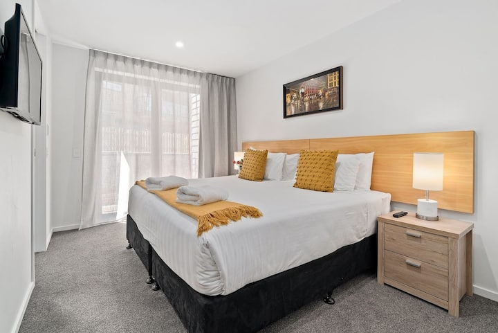 Serenity Heights | Bedroom 27C | Smart TV | Mini Fridge