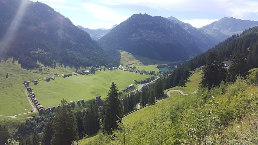 Haus Alpspitz im Herzen von Steg/Liechtenstein