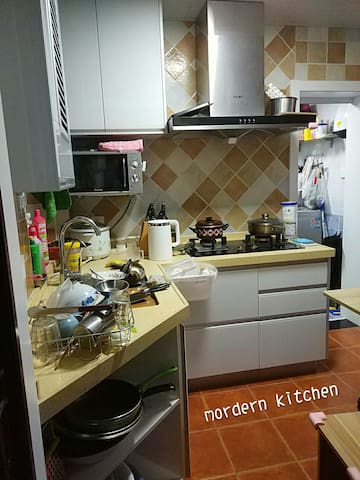 comprehensive equipment,u can cook everything ,24h hot water