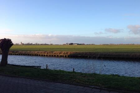 Spacious room with a beautiful view! - Bolsward