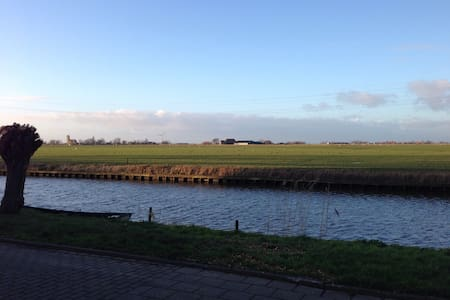 Spacious room with a beautiful view! - Bolsward - House