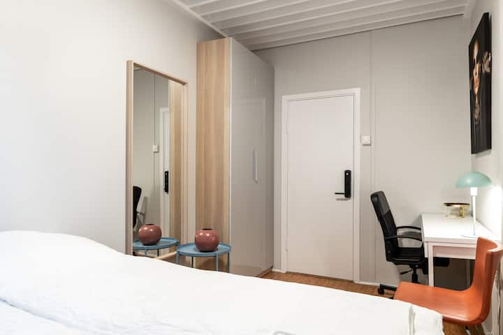 Skrubler room in Heart of Oslo! 3min from castle