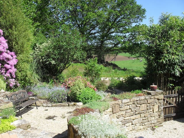 Cottage with own heated private pool - Quistinic - Holiday home