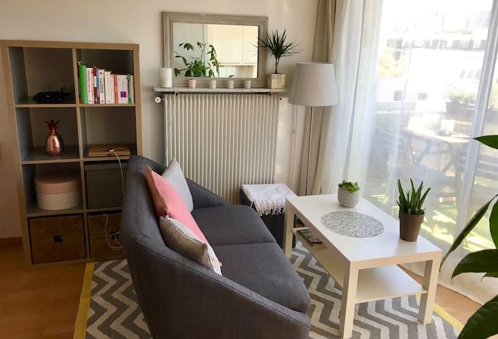 Très beau studio cosy & lumineux avec terrasse