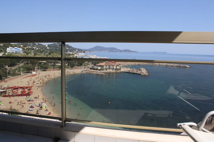 SUPERBE APPARTEMENT TOULON PLAGE DU MOURILLON - Toulon - Leilighet