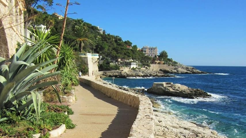 Luxury Modern Flat - Beach, Tennis, Gym and Monaco - Cap-d'Ail - 公寓
