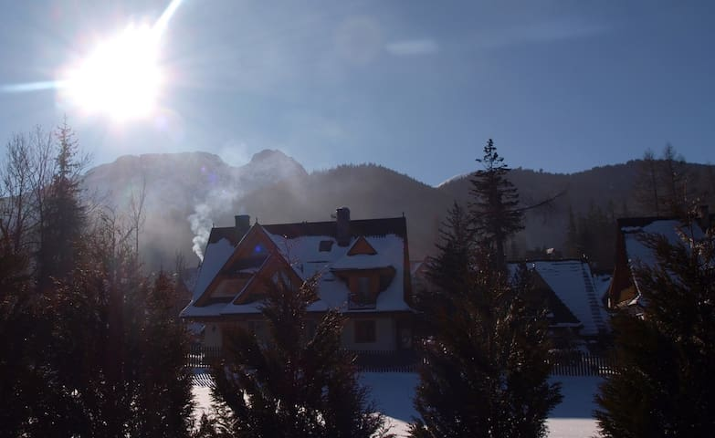 View Giewont when drinking your morning coffee! - Zakopane - Pis