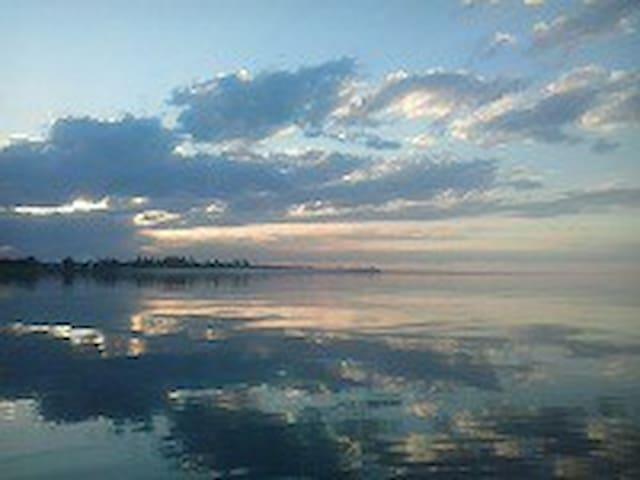 Дом отдыха на озере Алаколь