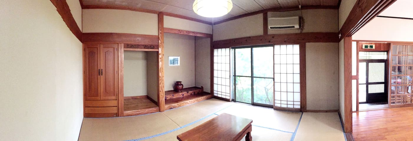 A Relaxing Japanese Room at  KANOKO - Kumage-gun  Yakushima-cho - Bed & Breakfast