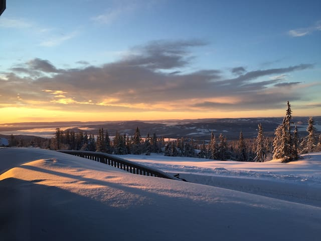 Norefjell ski in/out beautiful view - Noresund - Byt