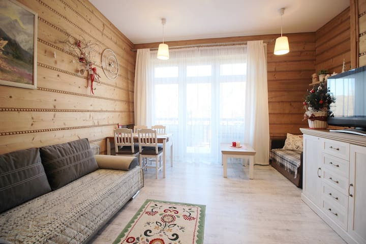 In the heart of town, easy access to ski areas. - Zakopane - Flat