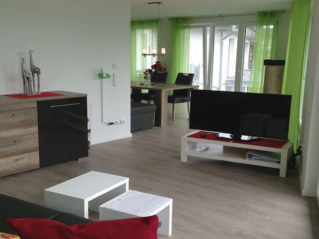 Gästehaus Bodenseeperle und Residence Flower Idyll, (Sipplingen), Ferienwohnung Rose, 83 qm, 2 Schlafzimmer, max. 4 Personen