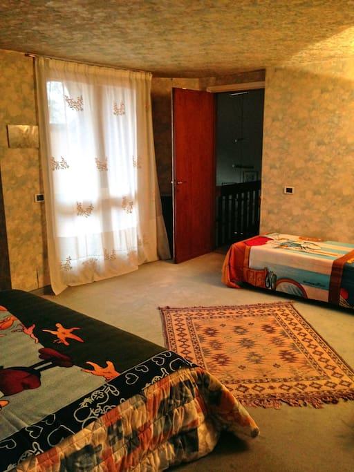 Balcone-terzo letto