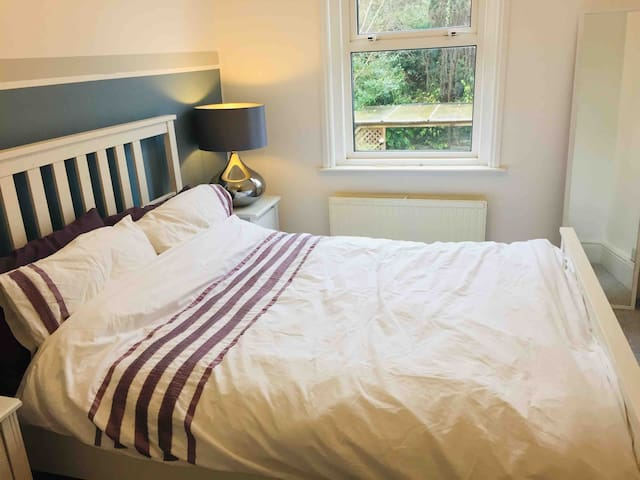 Spacious double room in quiet Victorian house