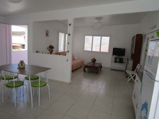 Joli Appartement +Terrasse  97 m² - Goyave - Apartamento