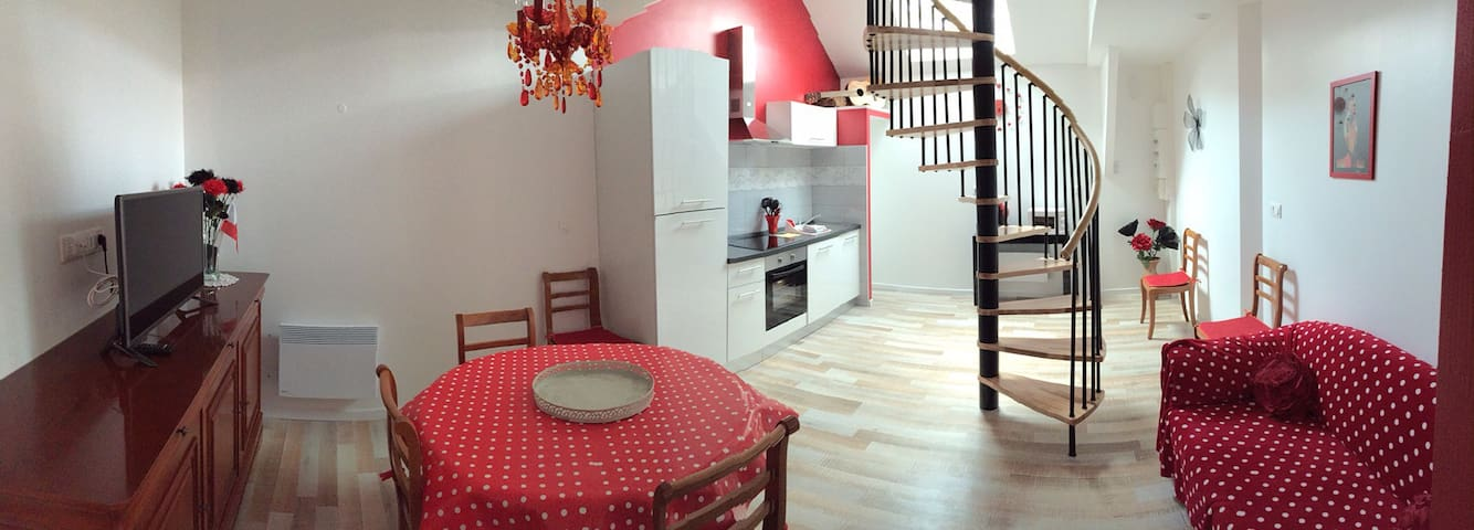 Le flamenco appartement duplex - Sin-le-Noble - Lejlighed