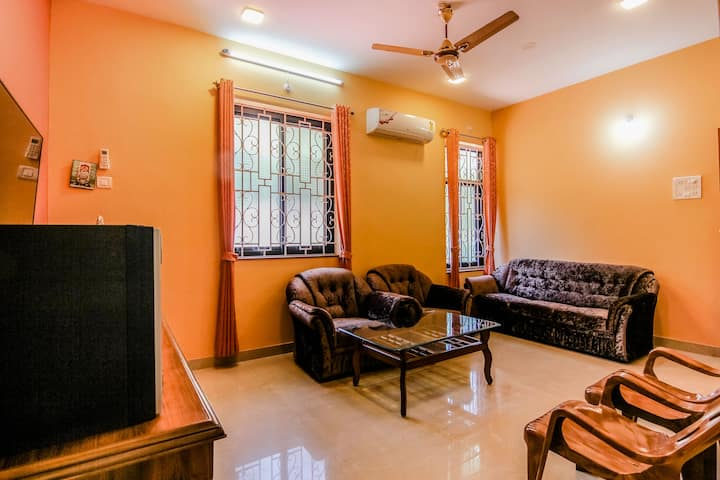 Comfortable 2 BHK apartment near Colva & Majorda 1