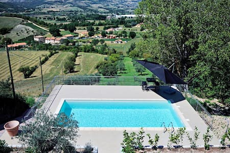 House with private pool - Costa - Nocera Umbra - Perugia - 一軒家