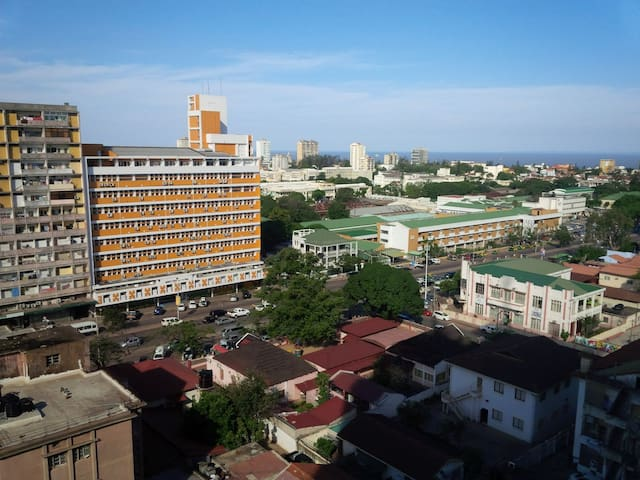 Up in the City Center with comfort and privacy - Maputo - Apartment