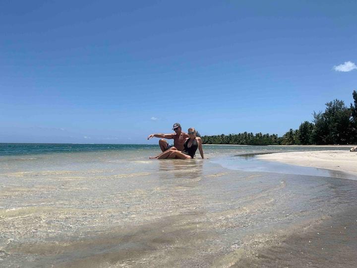 Vacaciones Frente al Mar de Luquillo!