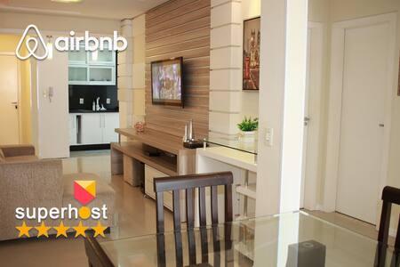 Apartamento Beto Carrero na praia - Wi-Fi 100 mega