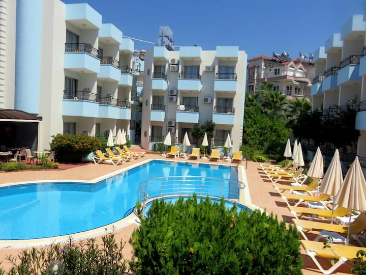 SİDE 1+1 HOLİDAY FLATS BİG POOL