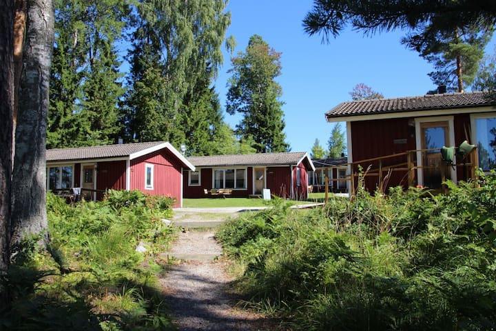 Complete cabin in Bergslagen