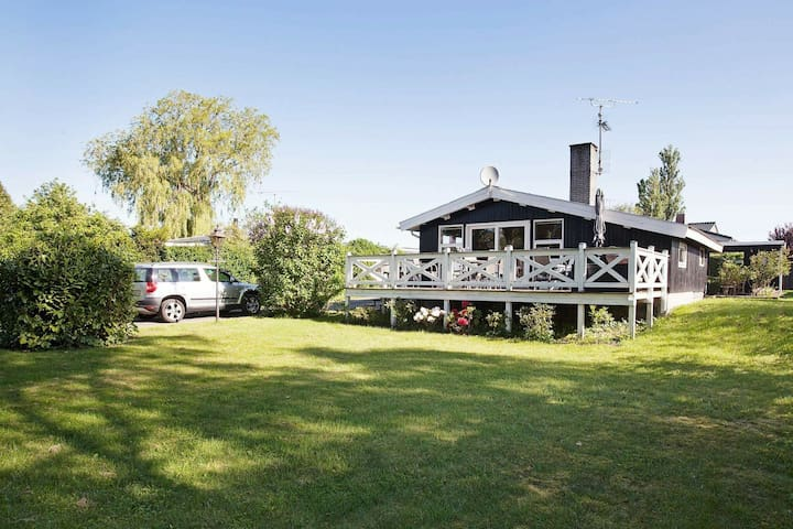 Spacious Holiday Home in Fårevejle Amidst Nature