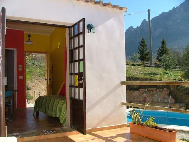 Apartamento rural en Pleno parque 2-3pax - Los Villares - Apartamento