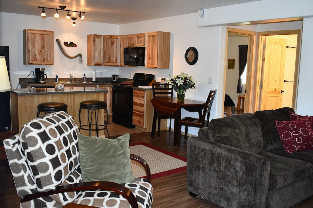 You will walk through the door and will see a beautiful, BRAND NEW condo!