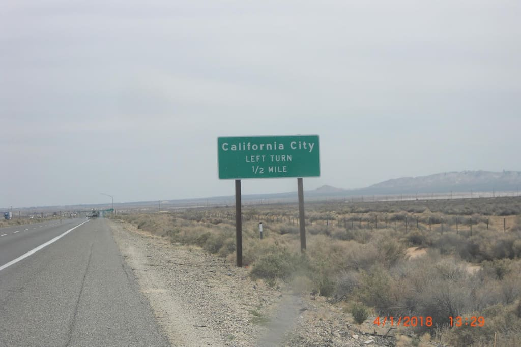 Take California City 10 Exit