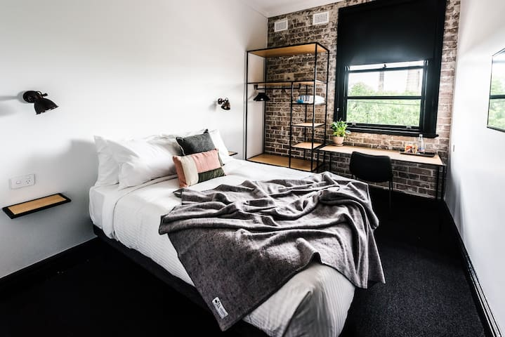 Double room at Sydney Park Hotel