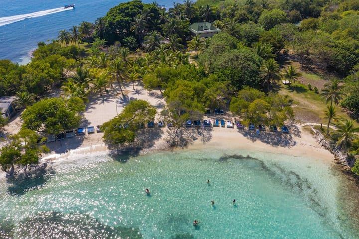 Fantástica Habitación privada en Caribe Colombiano