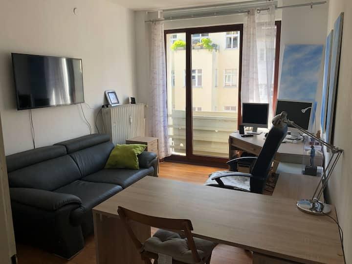Small functional apartment at Rathenauplatz