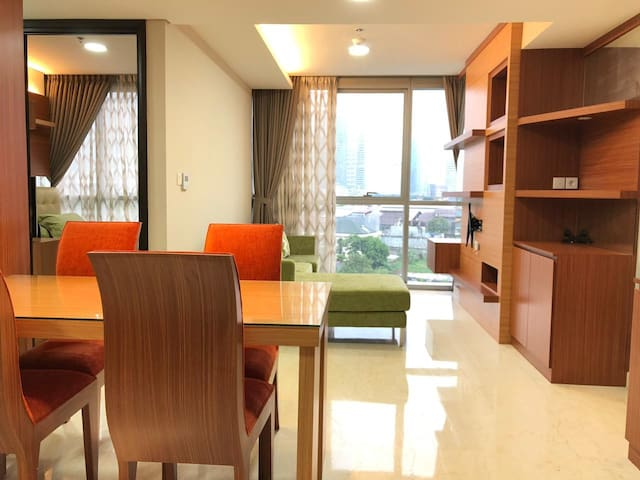 Ciputra world kuningan with 2 BR New Apartment