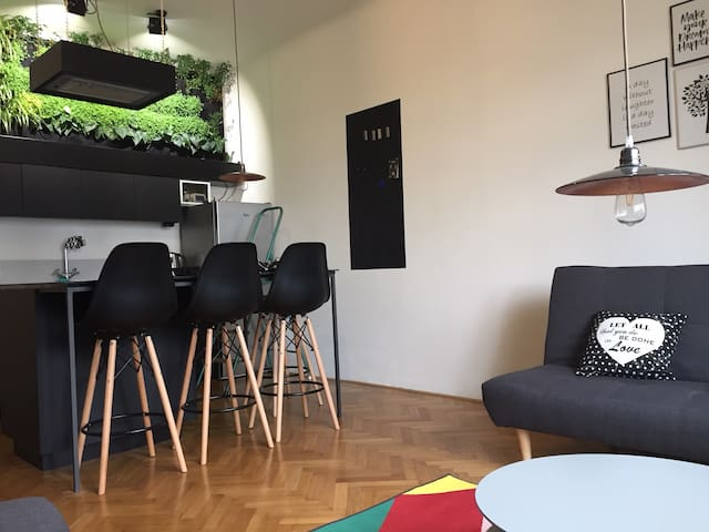Design equipped apartment in the center of Brno