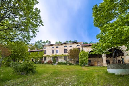 Tenuta Gli Olmi - Casolare XVIII sec. - San Giovanni in Monte - Mossano - Rumah