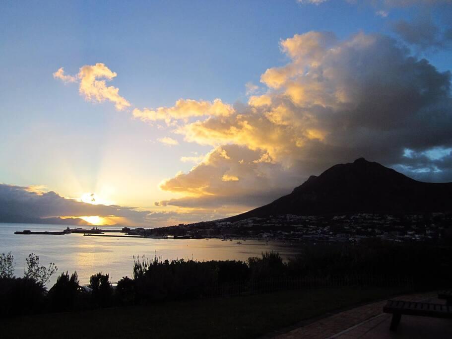 Sunrise from Bay Splendour