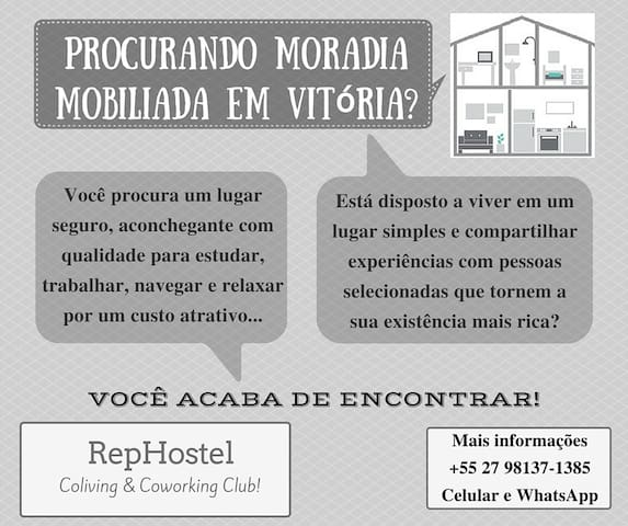 RepHostel - Vitória - ES - Brasil - Serra - Talo