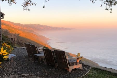 Big Sur stunning vista oceanfront ranch house
