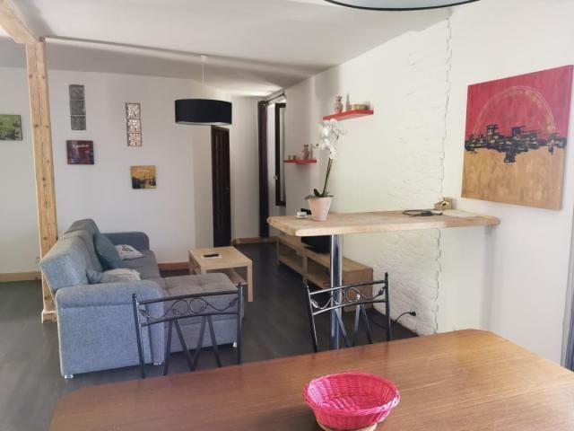 Chambres individuelles dans appartement