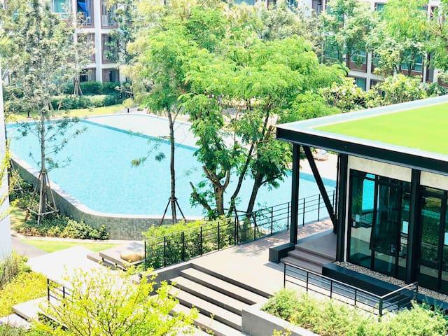 *★.• * Dcondo Ping # 豪华公寓 SOFA BED➕Nice  View 。✿✲-