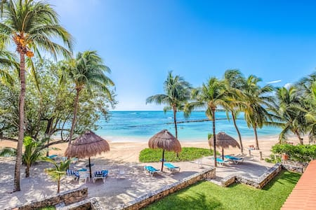Breathtaking Views on the Beach of Riviera Maya