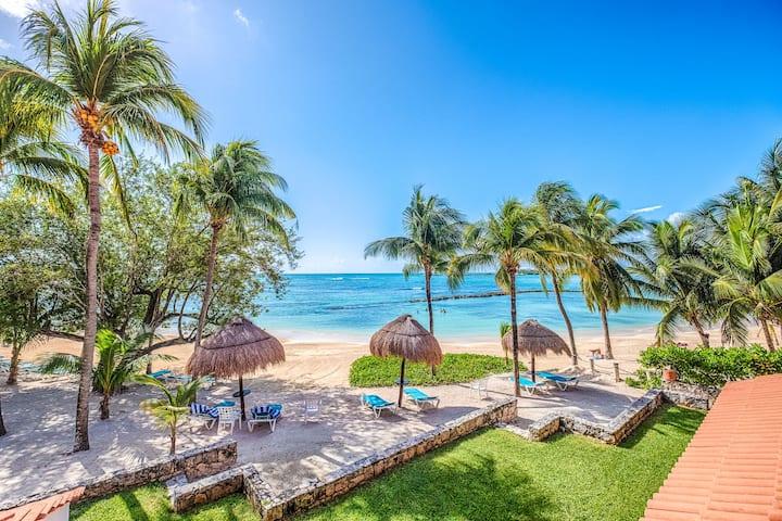Breathtaking Views on the Beach of Riviera Maya