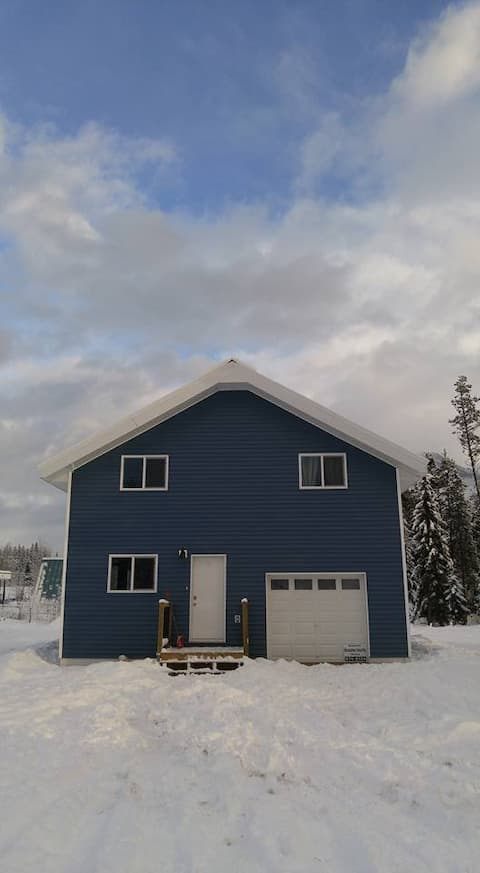 Blue House In Blue