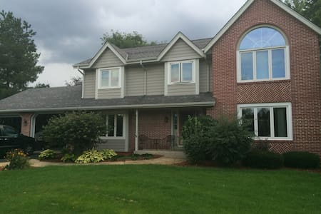 Lake Country Home w/Pool for US Open at Erin Hills - Nashotah - Casa