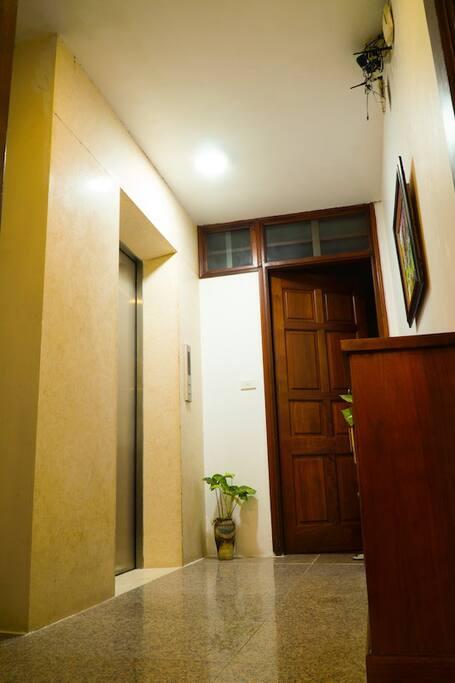 Elevator enter