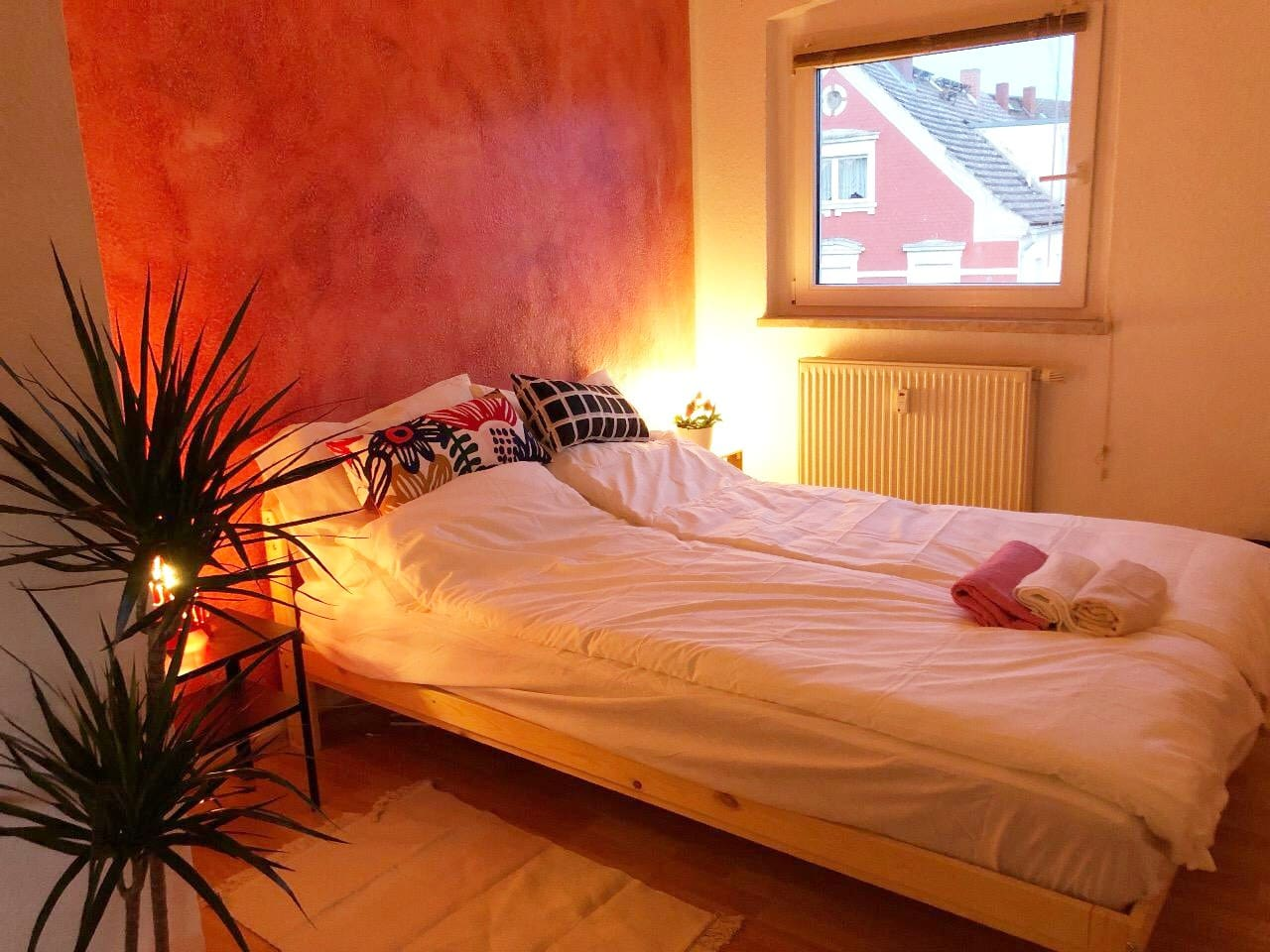 Romantic, clean and comfortable room