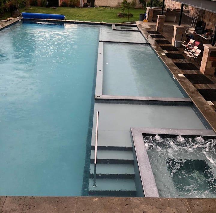 La Pileta cozy garden house, amazing shared pool