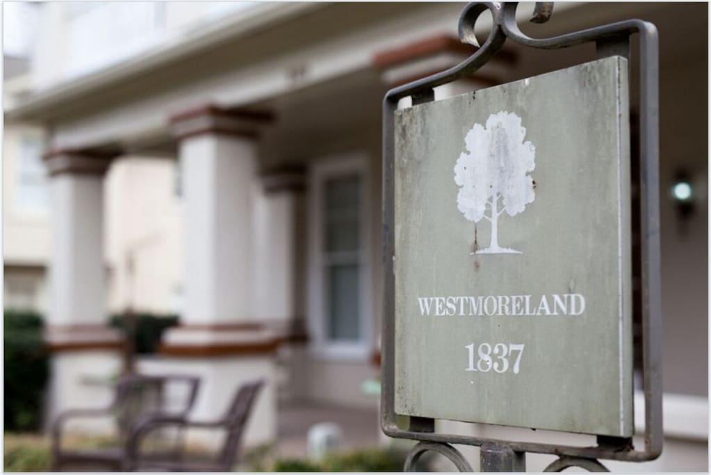 Historic Marker - 1837 Westmoreland